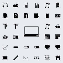 computer icon. web icons universal set for web and mobile on white background