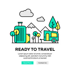 READY TO TRAVEL BANNER CONCEPT