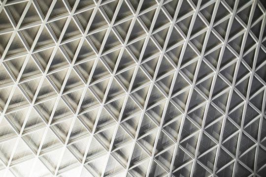 Modern design ceiling construction.