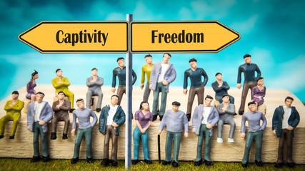 Sign 370 - Freedom