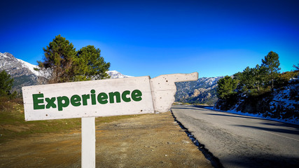 Sign 377 - Experience