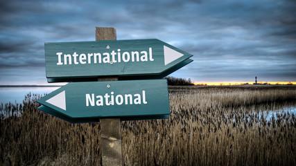 Sign 382 - International
