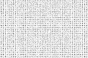 Abstract black and white background of dots.
