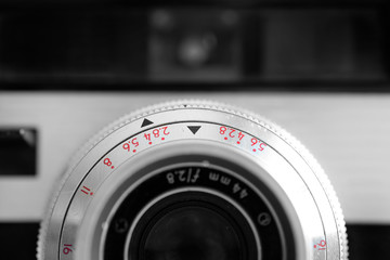 Old Camera Manual Lens Photography Equipment
