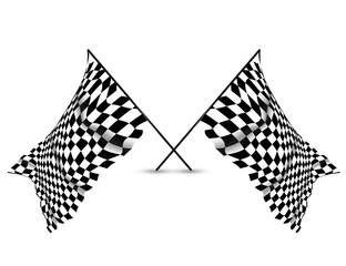 Checkered Racing Wall Flag Background and Wallpaper, copy space banner, sorts theme