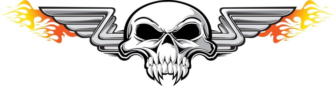 Hot rod skull