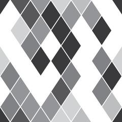 seamless pattern with gray rhombus