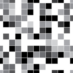seamless pattern with gray squares