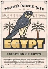 Horus Falcon bird, ancient Egypt
