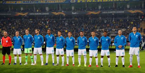 Europa League Round of 32 First Leg - Fenerbahce v Zenit Saint Petersburg