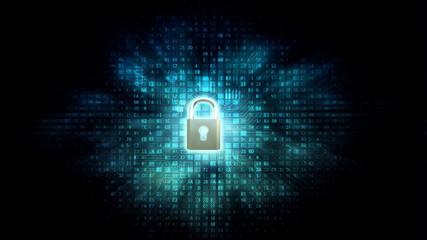Wall Mural - Internet Data security