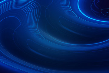 Blue abstract, Computer generated Blue background, copy space banner