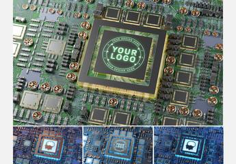 Circuit Board Mockups