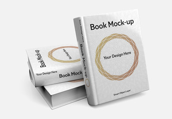 Stack of Books Mockup