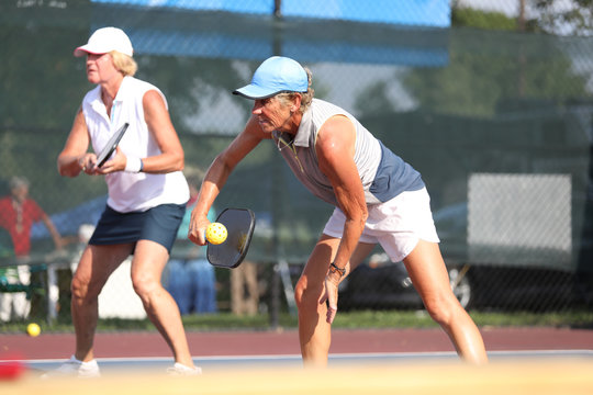 pickleball ladies doubles
