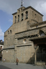 Village of Huesca in  Aragon. Spain