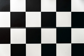 Empty chess board for the whole frame