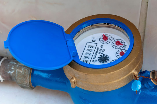 Water meter - controlling the water consume