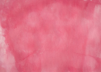 Pink Watercolour Art Texture Background