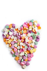 Conversation Hearts Heart