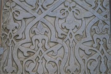 Bas relief art islamique