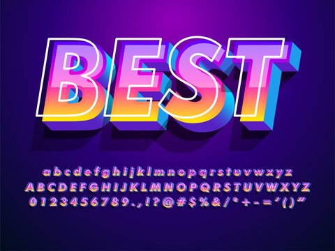 """best"" modern and futuristic font with cool effect  compatible with illustrator 10"