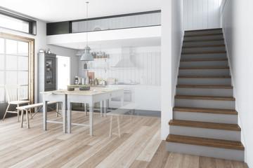 Küchenrenovierung (Vision) - 3d visualization