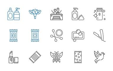 beauty icons set