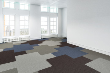 Free Office Space 02 - 3d visualization