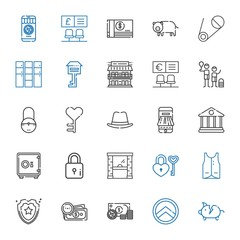 safe icons set