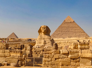 ancient Egyptian civilization. Great Sphinx