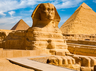ancient Egyptian civilization. Great Sphinx Wall mural