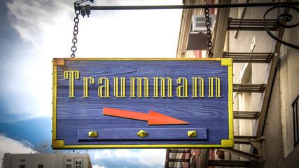 Schild 403 - Traummann