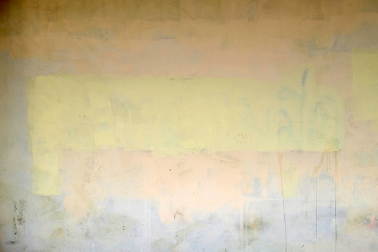 grunge color paint wall