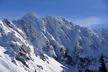 Tatry Tatrzański Park Narodowy zima TPN Góry Orla Perc
