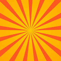 sunburst vector illustration