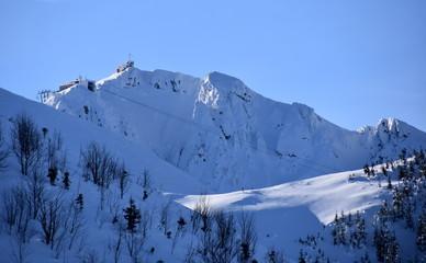 Kasprowy Wierch Tatry Tatrzański Park Narodowy zima TPN Góry