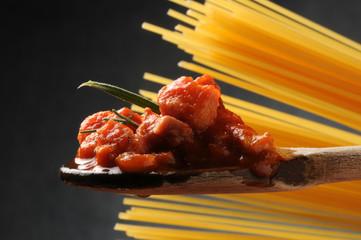 Spaghetti al ragù ft5109_4249 Cucina italiana Italienische Küche Gastronomía de Italia Italian cuisine Italienska köket italienne Comida sounding Culinária da Itália Italiaanse keuken