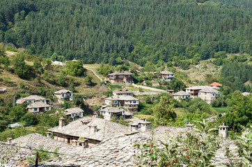 Old houses in historical cultural reserve Dolen , Bulgaria
