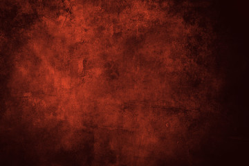 red grungy background or texture Wall mural