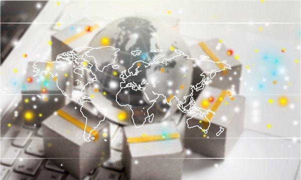 Marketplace chain supply worldwide internet commerce consumer