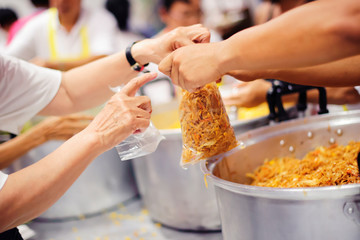 Feeding the Hungry : Make the poor equal
