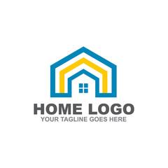 Home logo design vector template