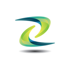 Z Logo- Abstract and Colorful
