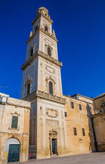 Bell Tower Of Lecce Cathedral - Apulia, Italy