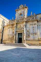 Lecce Cathedral - Lecce, Apulia, Italy