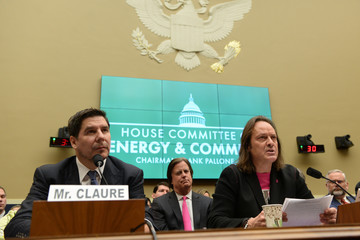 Sprint Executive Chairman Claure and T-Mobile US CEO Legere testify before a U.S. House Committee on Energy and Commerce Subcommittee hearing in Washington