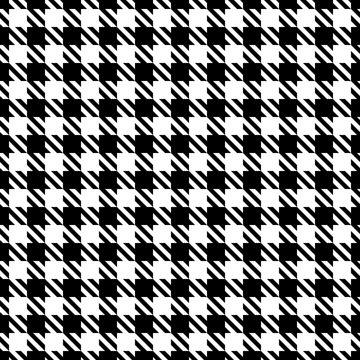 Fototapete Hahnentritt Muster In Schwarz 15
