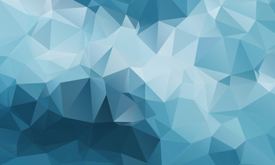 Abstract Color Polygon Background Design, Abstract Geometric Origami Style With Gradient - Vector