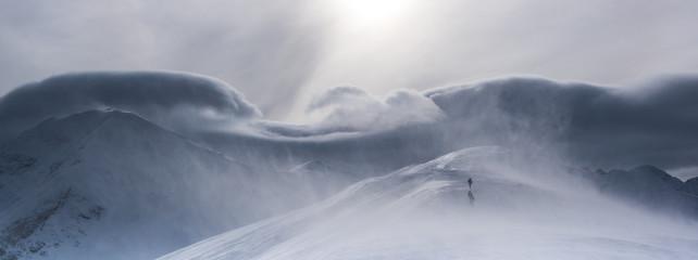 Halny wiatr w Tatrach Zachodnich